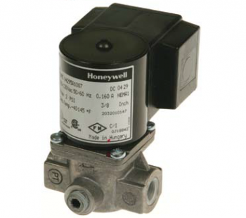 "Honeywell V4295A1098 Solenoid Valve 120V Normally Closed 2psi 3/8"" NPT"