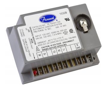 Fenwal 35-705500-005 Microprocessor-Based Direct Spark Ignition Control 120VAC 1 TFI Local Sense 10-Seconds