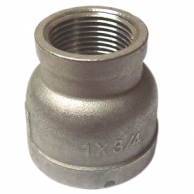 """BackStop 12-SS221204 Stainless Steel Bell Reducer 3/4"""" FIP x 1/4"""" FIP (Qty of 87)"""