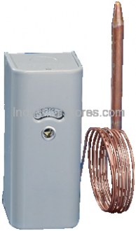 White-Rodgers 1609-101 Refrigeration Remote Bulb Temperature Control with 5-foot Capillary (-30 to 90F)
