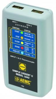 AEMC 2126.08 L642 Datalogger Thermocouple Type K