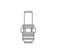 """Baso Y90BB-3325 Male Pipe Fitting 1/8"""" with 0.025 Orifice"""