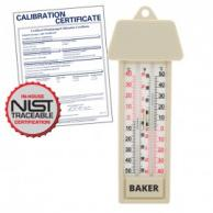 Baker MM2 Max-Min Thermometer with NIST Traceable Certificate