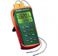 Extech EA15-NIST EasyView Type K Dual Input Thermometer with NIST Traceable Calibration
