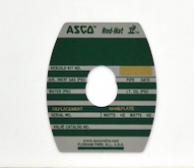Asco 274173- M6 Retaining Plate Kit