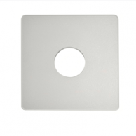 "Automated Logic ALC/ADP-53-53-WMW Wall Adapter Plate 5.3""X5.3"" Warm White"