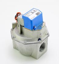 "Honeywell V4943A1029 Single Stage Pressure Auto Regulating Valve 1-1/4"" 120V"