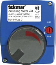 Tekmar 741 Actuating Motor 24V Floating Action