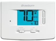 Braeburn 1020NC Non-Programmable Thermostat