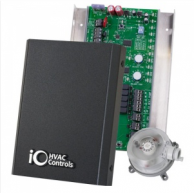 iO HVAC Controls ZP3-HPS-ESP Heat Pump 3-Zone Control Panel with Static Pressure Sensor