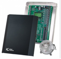 iO HVAC Controls ZP6-ESP Control Panel 6-Zone with Static Pressure Sensor
