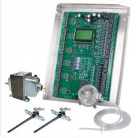 iO HVAC Controls ZP6-ESP-KIT Control Panel 6-Zone Kit with Static Pressure Sensor