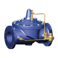 "Cla-Val 90-01ADS-1.5-A Angle Water Regulator 1.5"" 30-300 PSI"