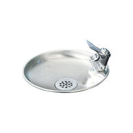 Elkay DRKR10C Non-Filtered Drinking Fountain Pushbutton Operation Non-Refrigerated Chilling