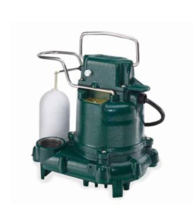 Zoeller 53-0001 Mighty Mate M53 Automatic Dewatering Submersible Pump