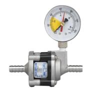 "Nu-Calgon 183-165-PG Water Pressure Reducing Valve 3/8"" 65 PSI with Pressure Gauge"