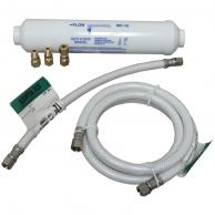 Lf4096323206014 Poly-Flex Ice Maker Connector Kit With Water Filter