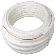 "DiversiTech WP1214-164 White Pipe 1/4x1/2"" x 164ft"