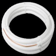"DiversiTech WP1214-50 White Pipe 1/4x1/2"" x 50ft"