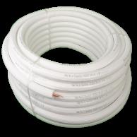 "DiversiTech WP1238-164 White Pipe 3/8x1/2"" x 164ft"