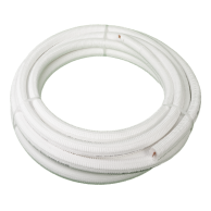 "DiversiTech WP1238-50 White Pipe 3/8x1/2"" x 50ft"