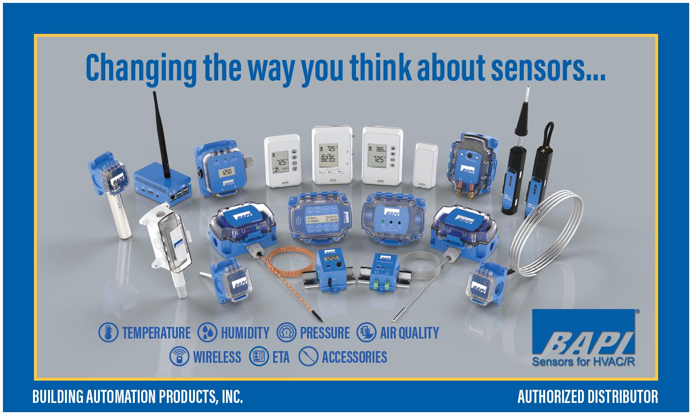 BAPI Sensors at Industrial Stores